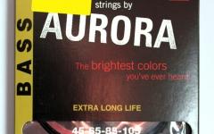 Set de corzi pentru chitara bass Aurora Bass 45-105 Black