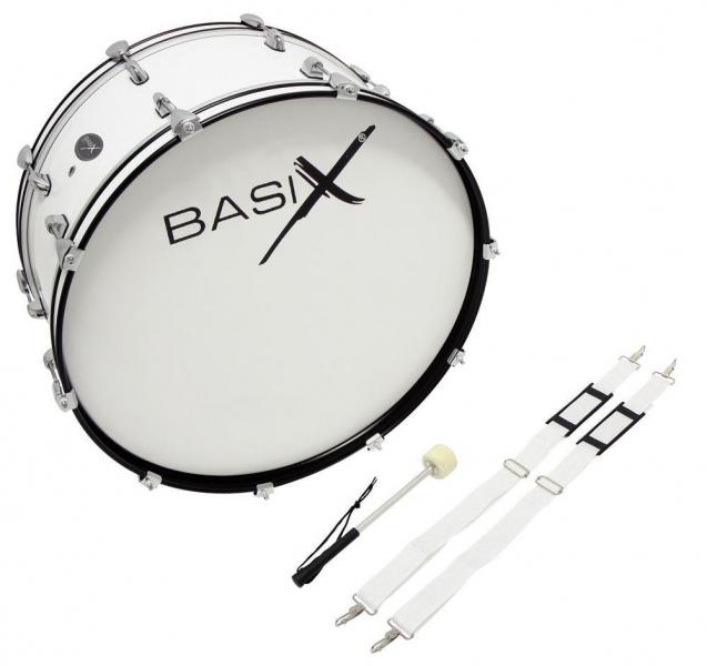 Basix Marching Bassdrum 24