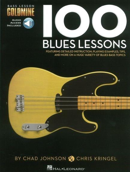 No brand BASS LESSON GOLDMINE 100 BLUES LESSONS TAB BGTR BK