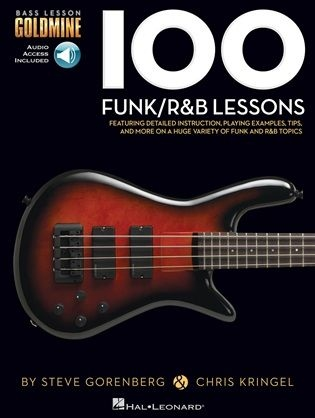 No brand BASS LESSON GOLDMINE 100 FUNK R&B LESSONS BGTR BK/AUDIO