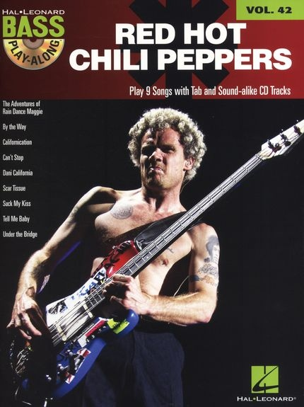 No brand BASS PLAY ALONG VOLUME 42 RED HOT CHILI PEPPERS BGTR BK/CD