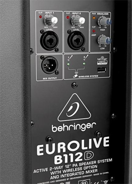 Boxa activa Behringer B112D