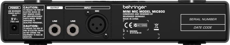 Behringer Minimic MIC800