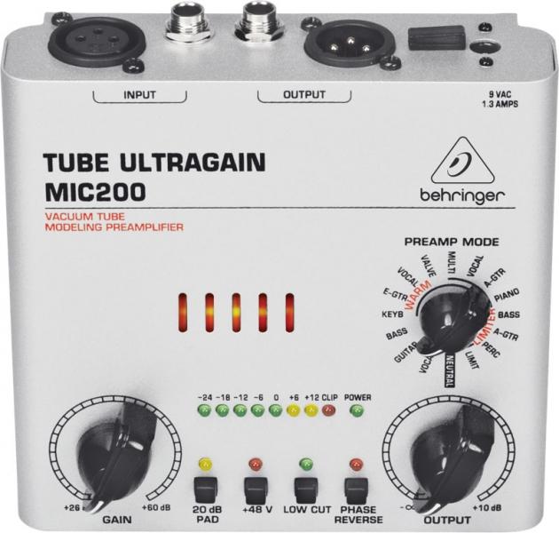 Behringer Tube Ultragain MIC200