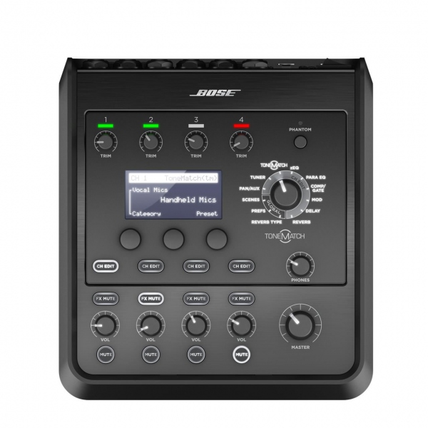 Mixer ultra-compact cu 4 canale Bose ToneMatch T4S