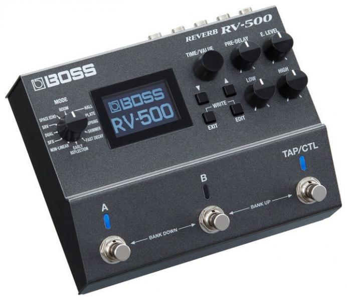 Multi-efect reverb pentru chitara Boss RV-500