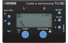 Tuner cu metronom Boss TU-30