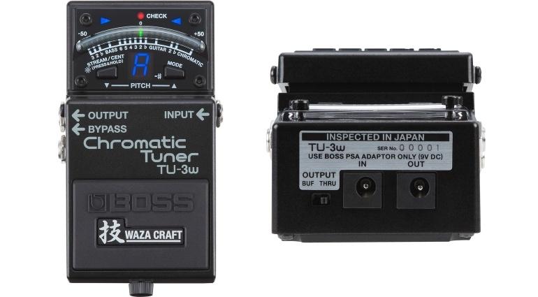 Tuner  pentru chitara / bass Boss TU-3W