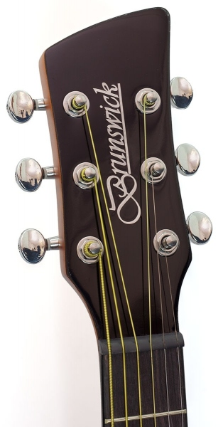 Brunswick Travel Guitar 200 Tobacco Burst