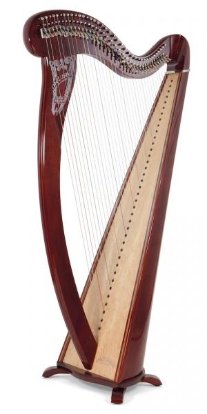 Harpa acustica cu clapete Camac Harps Concert Melusine