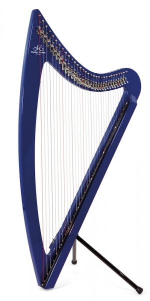 Harpa electrica Camac Harps DHC Blue Light 36