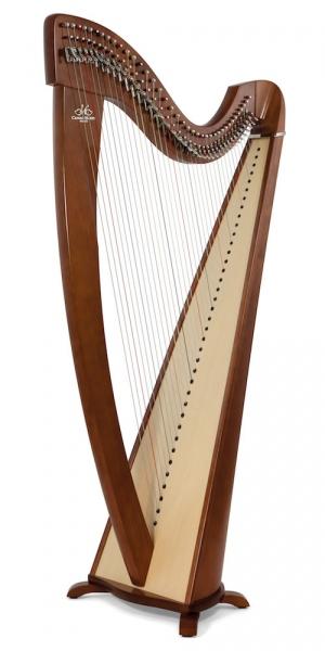 Harpa acustica cu clapete Camac Harps Korrigan