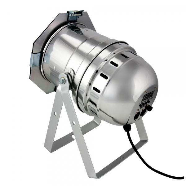 Proiector LED Cameo PAR-64 18x3W TRI LED RGB Silver