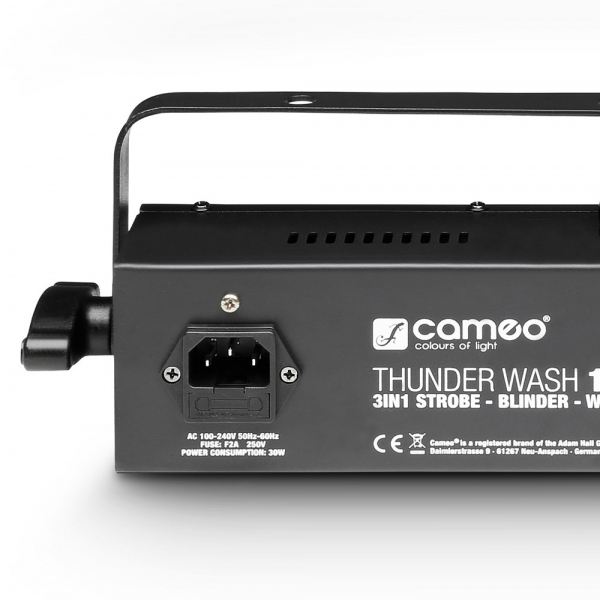 Efect de lumini Strobe, Blinder si Wash Light Cameo Thunder Wash 100 W