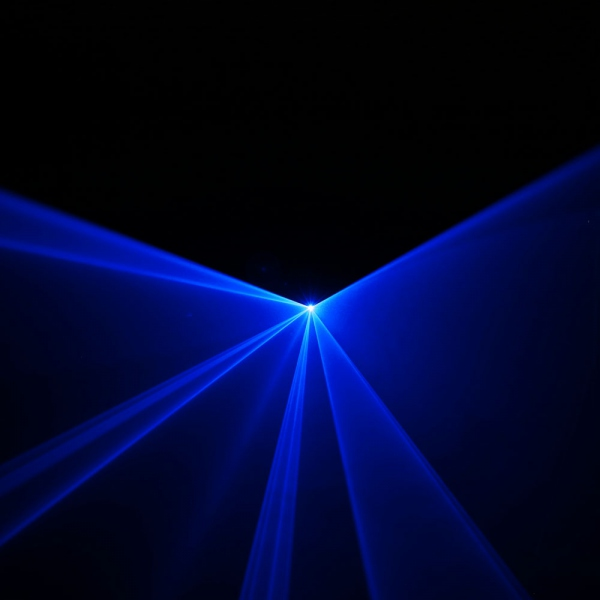 Efect de lumini laser albastru Cameo WOOKIE 600 B