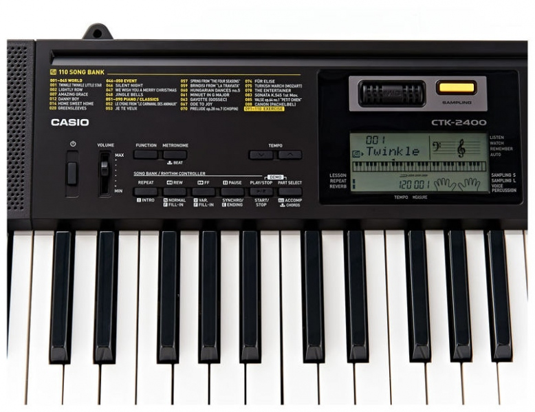 Clapa aranjor cu 61 de clape Casio CTK-2400