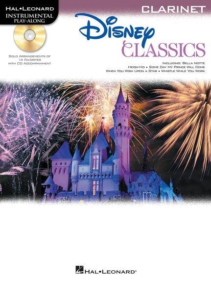 No brand Clarinet Play-Along: Disney Classics