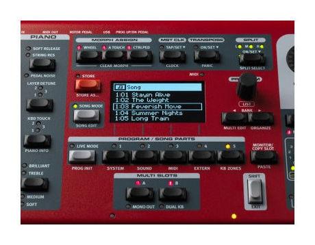 Pian digital/sintetizator/orga digitala Clavia Nord Stage 3 - 88