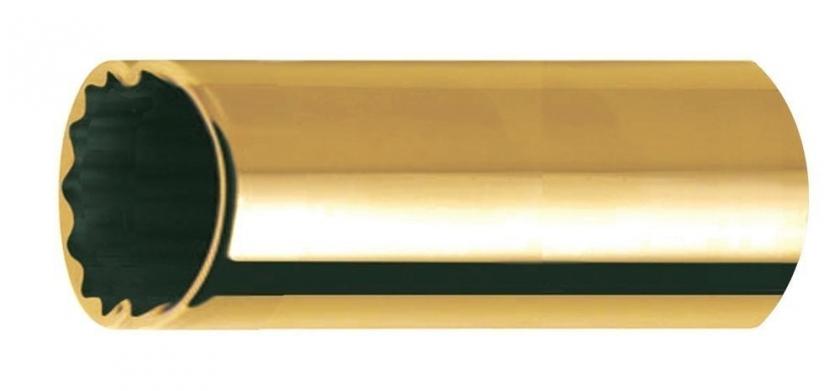 Bottleneck/slide pentru chitara Clayton Bottleneck/Slide Socket Brass Medium