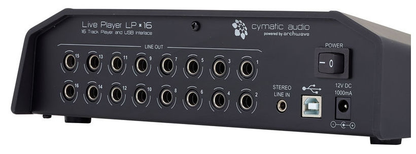Player digital multi-track Cymatic Audio Live Player LP-16