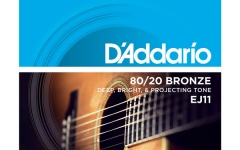 Daddario EJ11 80/20 Bronze Light 12-53