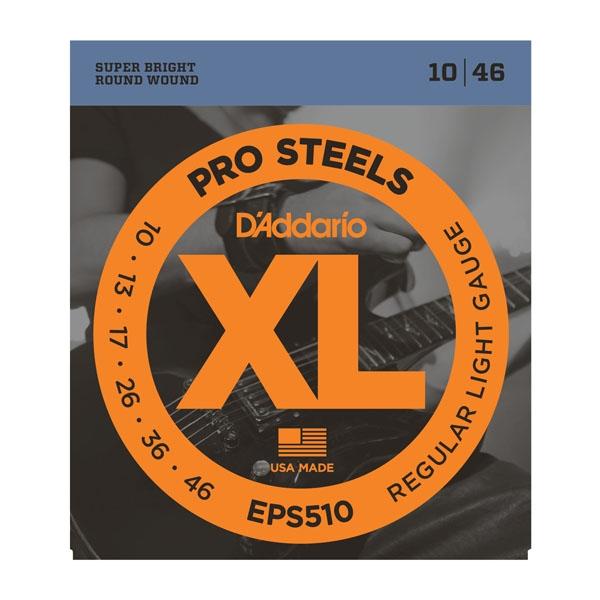 Daddario EPS510 ProSteels Regular 10-46