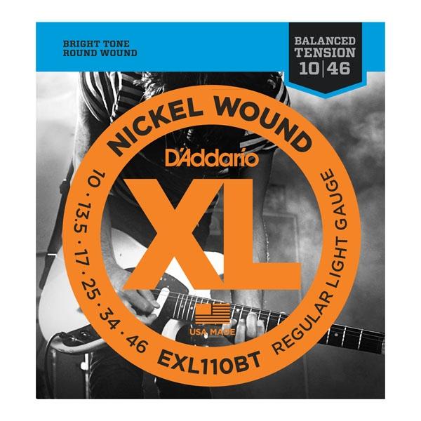 Daddario EXL110 Balanced Tension 10-46