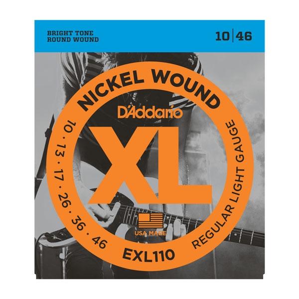 Daddario EXL110 Regular Light 10-46