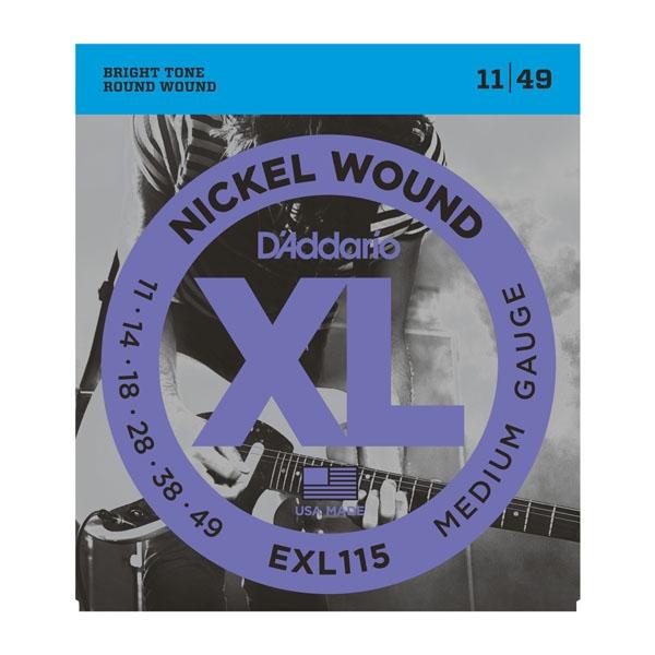 Daddario EXL115 Medium 11-49