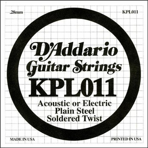 Coarda de chitara DAddario KPL011