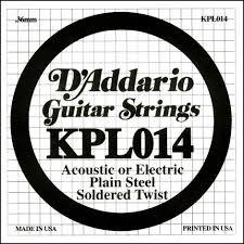 Coarda de chitara DAddario KPL014