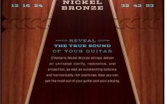 Set corzi chitara acustica Daddario NB1253 Nickel Bronze Light 12-53