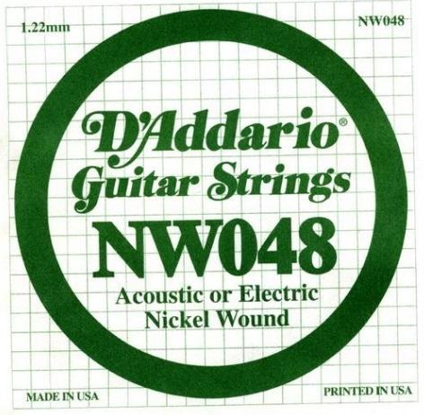 Coarda de chitara DAddario NW048