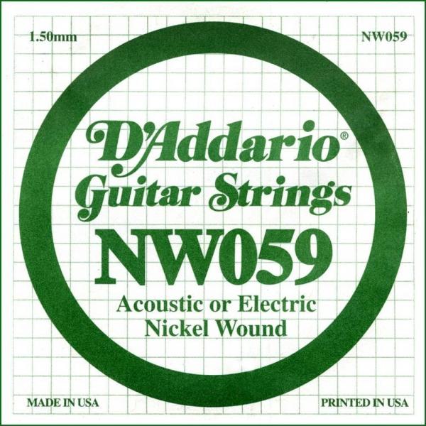 Coarda de chitara DAddario NW059
