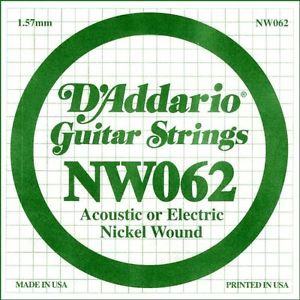 Coarda de chitara DAddario NW062