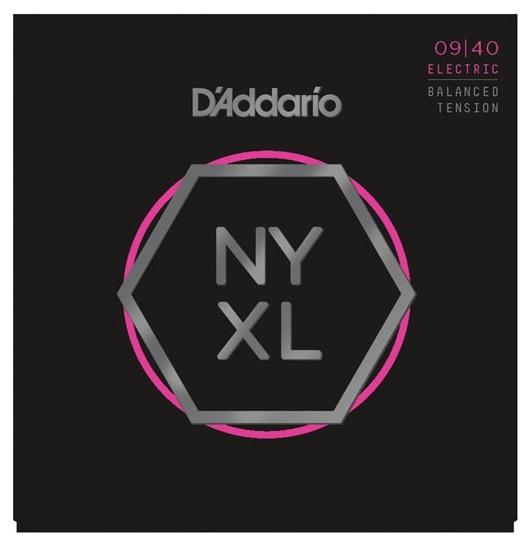 Set de corzi pentru chitara electrica 09-40 Daddario NYXL0940 BT