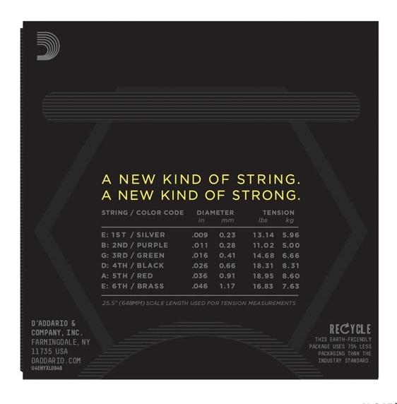 Set de corzi hibrid 09-46 Daddario NYXL 0946