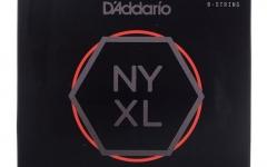 Set de corzi pentru chitara electrica cu 8 corzi Daddario NYXL1074 8 Strings