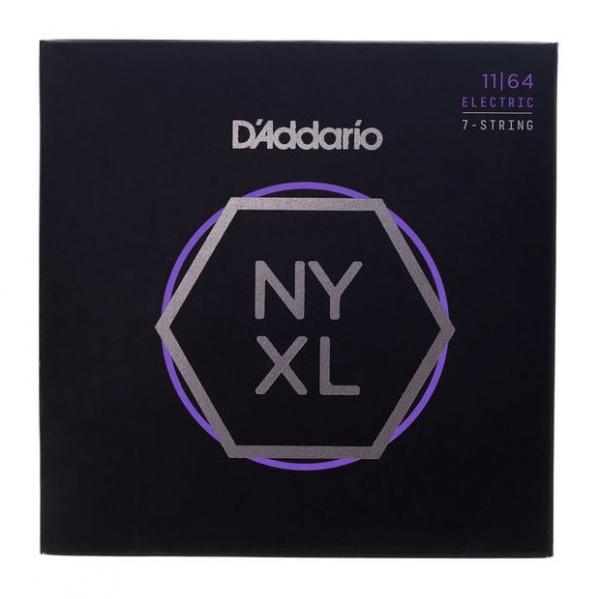 Set corzi pentru chitara electrica cu 7 corzi Daddario NYXL1164 7 Strings