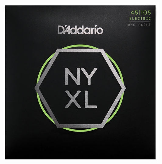 Set de corzi pentru chitara bass Daddario NYXL45105