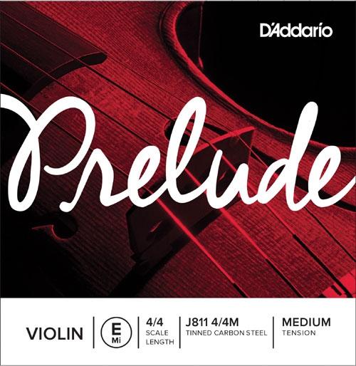 D'addario Prelude J811 4/4 Medium E/Mi