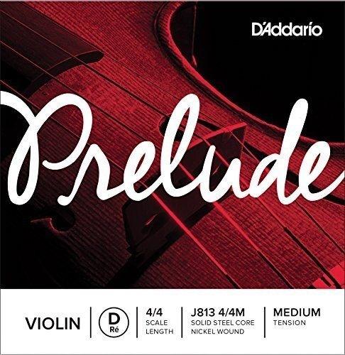 D'addario Prelude J813 4/4 Medium D/Re