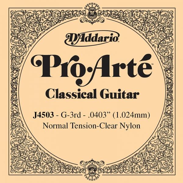 Daddario Pro-Arte J4503 G (Sol)