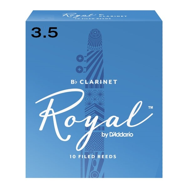 Ancie Daddario Woodwinds Royal Clarinet Bb 3.5.