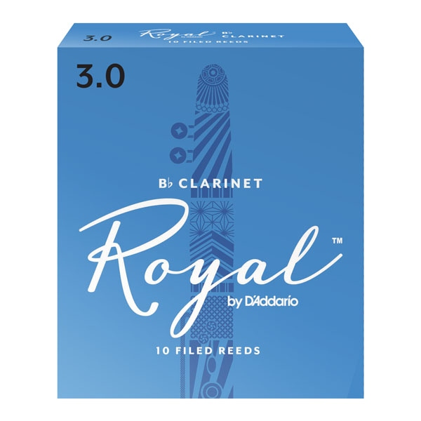 Ancie Daddario Woodwinds Royal Clarinet Bb 3.