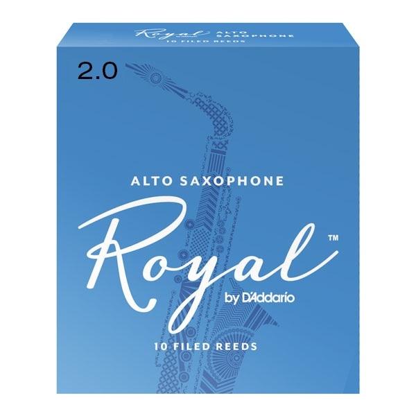 Ancie Daddario Woodwinds Royal Saxofon Alto 2.
