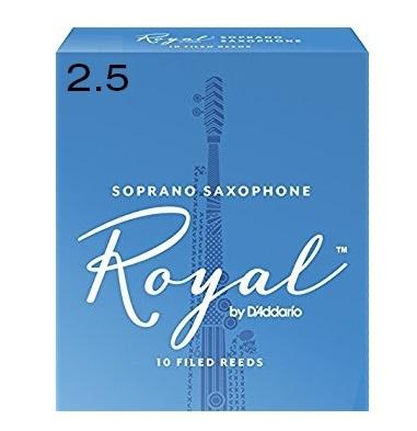 Ancie Daddario Woodwinds Royal Saxofon Sopran 2.