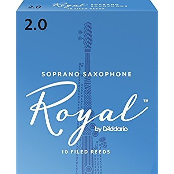 Ancie Daddario Woodwinds Royal Saxofon Sopran 2.
