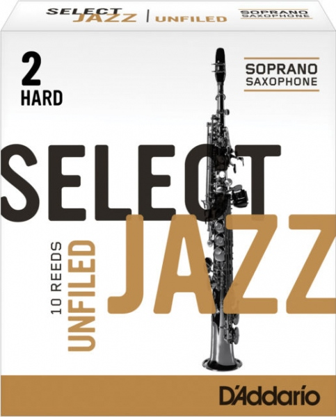 Ancie Jazz pentru saxofon sopran Daddario Woodwinds Soprano Sax Select Jazz 2H