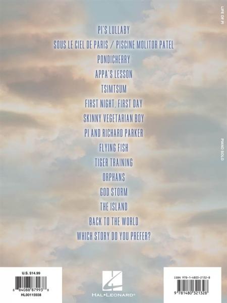 No brand Danna Life of Pi soundtrack EASY PF BK